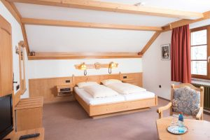 Zum Ochsen Doppelzimmer Landhaus Bett