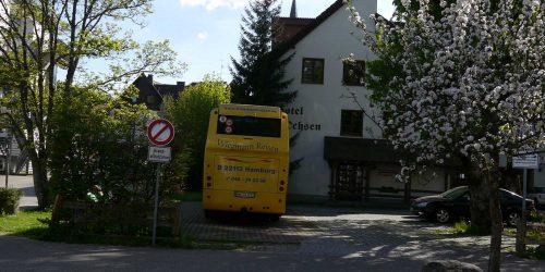 Zum Ochsen Gruppenreisen Busparkplatz Aussenansicht